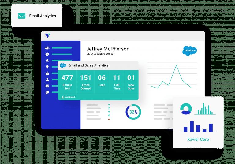 email analytics graphic