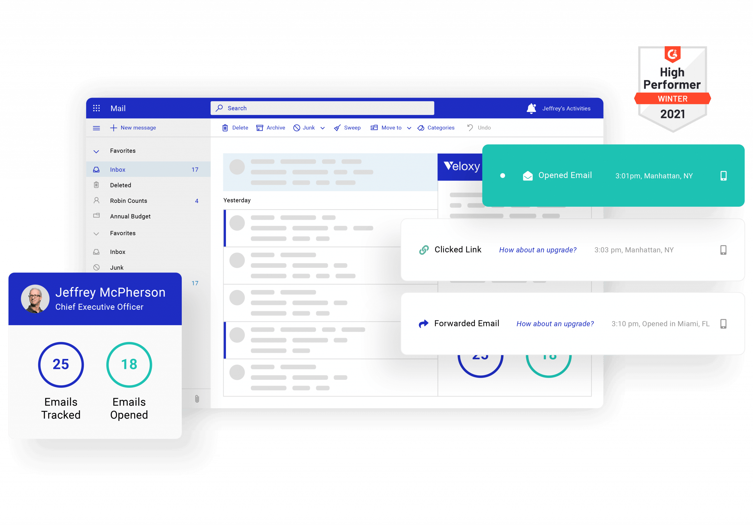 email tracking graphic