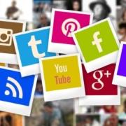 variety of social media platform logos