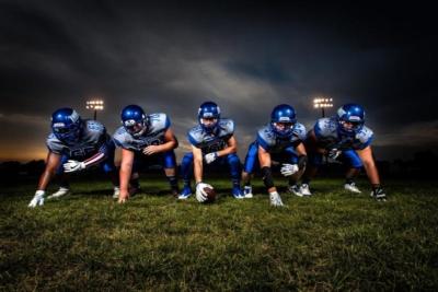 photo of a football team