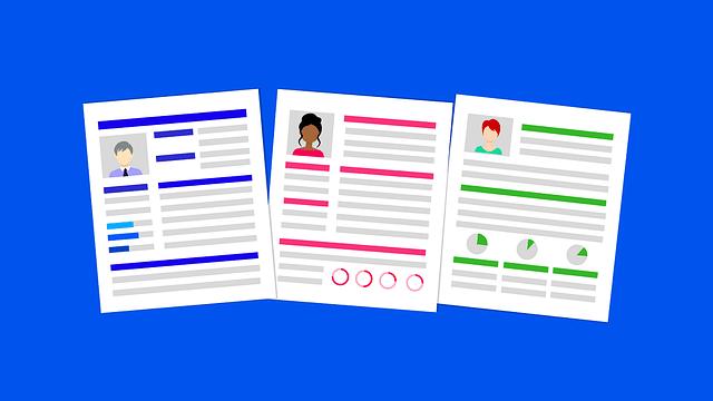 illustration of sales professional resumes