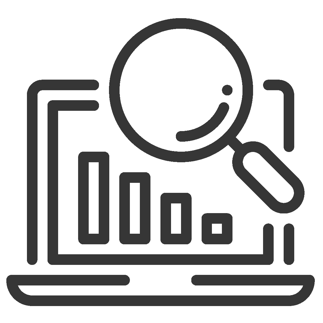 icon for data driven selling ai sales assistant