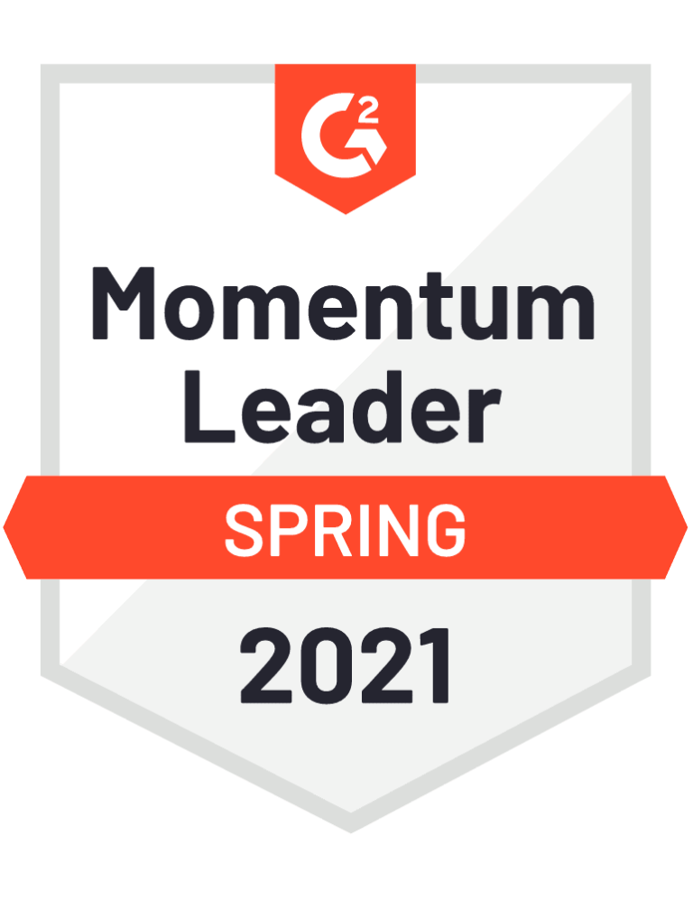 g2 momentum leader badge