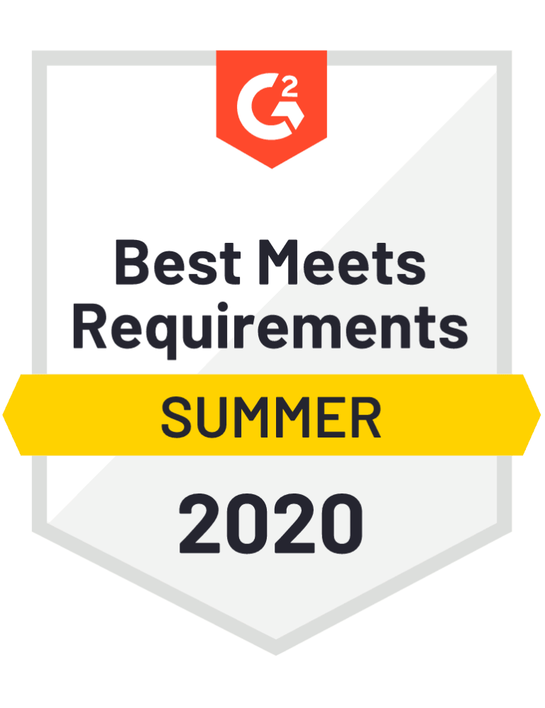 g2 best meets requirements badge