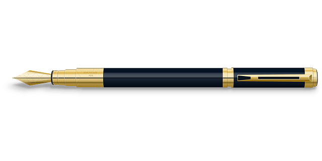 fountain tip pen
