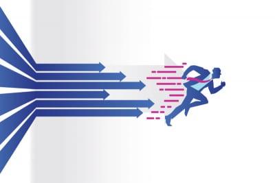 illustration of sales velocity